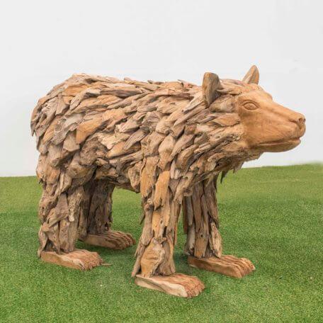 Teak-Holz