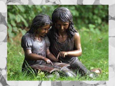 Kinder aus Bronze